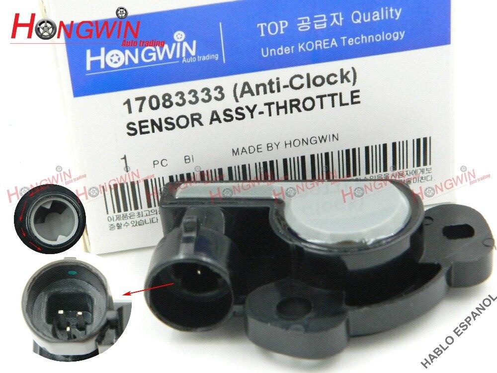 17083333 czujnik TPS czujnik położenia przepustnicy pasuje do Honda Isuzu Acura Buick Chevrolet GMC Cadillac Pontiac Oldsmobile 5S5008,TH51