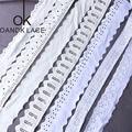 3 ярда кружевной отделкой аппликационный костюм отделка Белая лента хлопок домашний текстиль кружевная ткань для шитья ткань 9 моделей