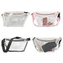 Purse Belt Bum-Bag Phone-Pouch Fanny Hip-Pack Shoulder Transparent Women Chest Fashion