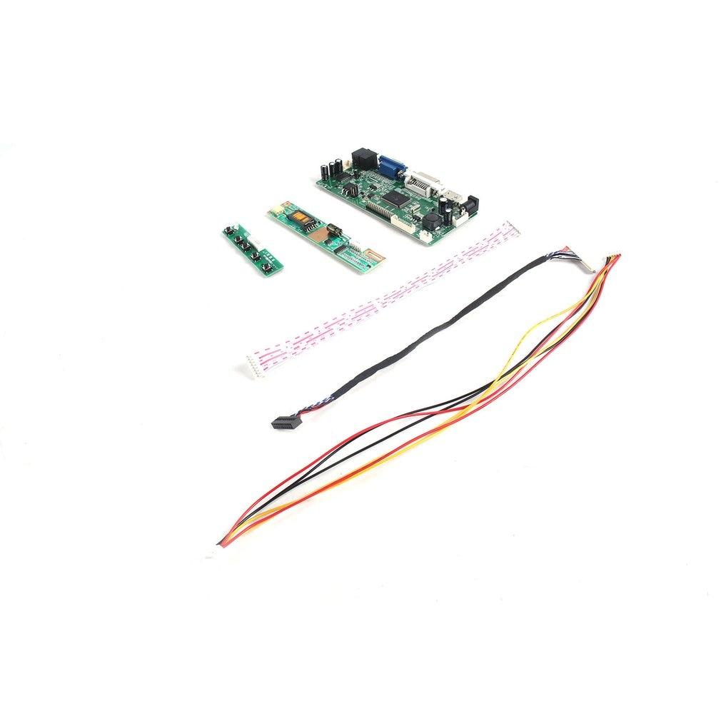 VGA DVI LCD LED Controller Board lvds Kit For M170E5-L09 HDMI Audio