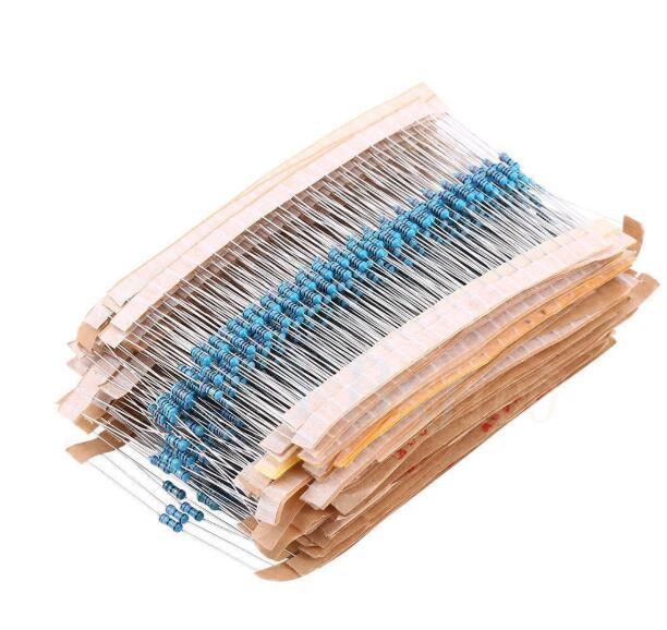 100pcs 1/4W filme De Metal resistor 1% 100R ~ 390R 100R 110R 120R 130R 150R 160R 180R 200R 220R 240R 270R 300R 330R 360R 390R