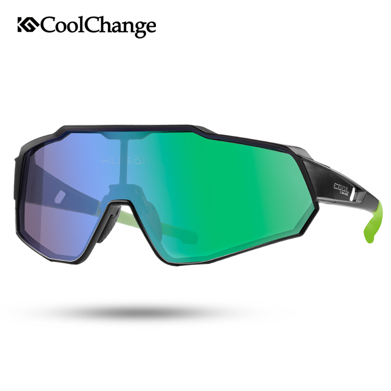 Купить с кэшбэком CoolChange Polarized Cycling Glasses Running Riding UV400 Bike Sunglasses Outdoor Sports MTB Bicycle Goggles Eyewear Men Women
