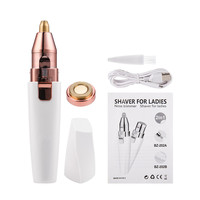 box-women shaver LED light Epilator Razor