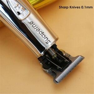 Image 2 - プロフェッショナルコードレスバリカン充電式電気毛トリマーひげシェーバー男性サロン理髪ヘアスタイリング切断機