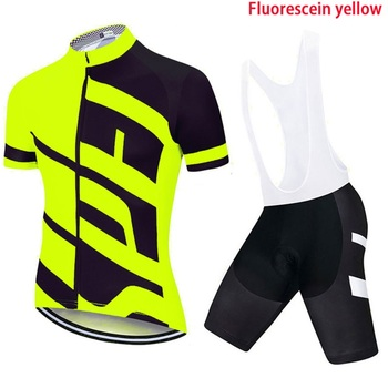 Team TELEYI Cycling Jerseys Bike Wear clothes Quick-Dry bib gel Sets Clothing Ropa Ciclismo uniformes Maillot Sport Wear 3