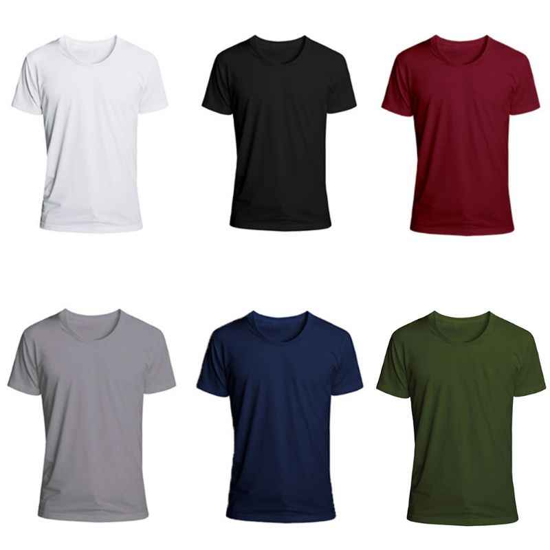 Men/'s T Shirt Short Sleeve Casual Crew Neck Summer Basic Pullover Solid Color