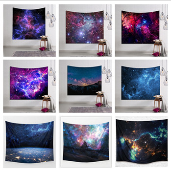 Galaxy Hanging Wall  Tapestry Hippie Retro Home Decor Yoga Beach Mat Tapestry   Wall Tapestry cityscape printed mandala tapestry wall hanging home bed decor hippie polyester letter motto tapestry beach throw towel yoga mat