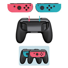 1 pair Joycon Handle Grips For Switch Joy-Con, Wear-resistant Handle Kit Compatible with Switch Joy Cons Controllers, 2 Pack