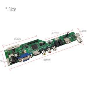 Image 5 - Chương Trình Miễn Phí T.HD8503.03C Đa Năng LCD Lái Xe Ban TV/AV/VGA/HDMI/USB Truyền Thông + 7Key + 1ch 6bit 30P LVDS + 1 Đèn Inverter Nga