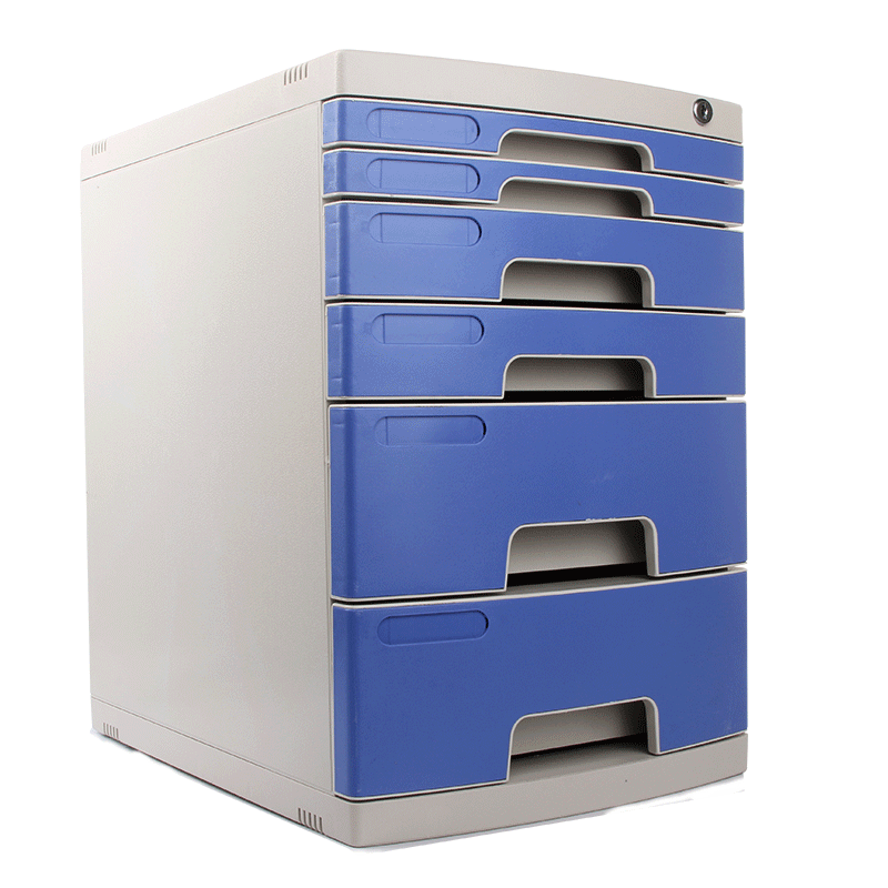 Desktop File Cabinet Receipt Box With Lock Receipt Cabinet Drawer Office Desk Stationery Cabinet Multilayer A4 Storage Cabinet