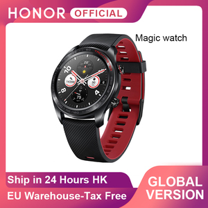 Global Version Honor Magic Watch SmartWatch Heart Rate WaterProof Tracker Sleep Tracker GPS WorkingPhone Call For Android iOS(China)