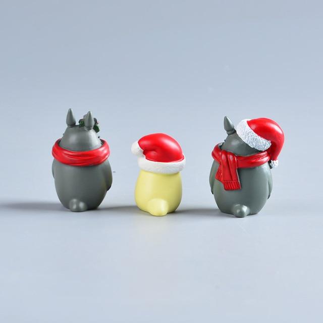 Аниме фигурки Тоторо Рождество 2