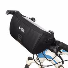 Вместительные велосипедные сумки прочная водонепроницаемая Холщовая