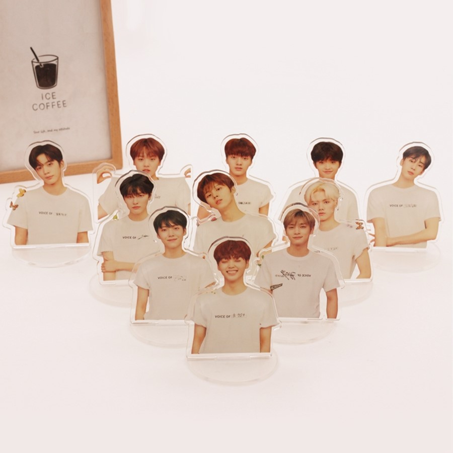KPOP X1 Mini Acrylic Desktop Standee Figure Doll X ONE Standing Action Kang Min Hee Table Decor