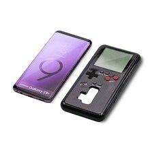Custodia per telefono retrò Gameboy Tetris per Samsung Galaxy S8 S9 Plus custodia Play Console di gioco Cover Siliconen mobile shell coque