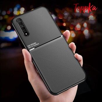 Перейти на Алиэкспресс и купить ДЛЯ VIVO V17 Neo Z5X Z5 V15 Z1 Pro Z5i чехол с магнитной наклейкой силиконовый чехол для телефона VIVO IQOO Pro IQOO Neo чехол