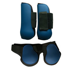 Equestrian-Equipment Horse-Leg-Boots Jumping Outdoor Hind 4pcs Training Front Adjustable-Band