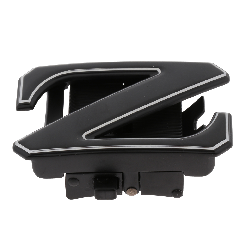 Durable Men Automatic Alloy Ratchet Belt Buckle Z-Type Replacement 35mm