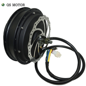 Image 3 - QS Motor  3000W 205  50H V3 Electric Hub Motor for electric bicycle 48/60/72V 4T/5T high speed Motor