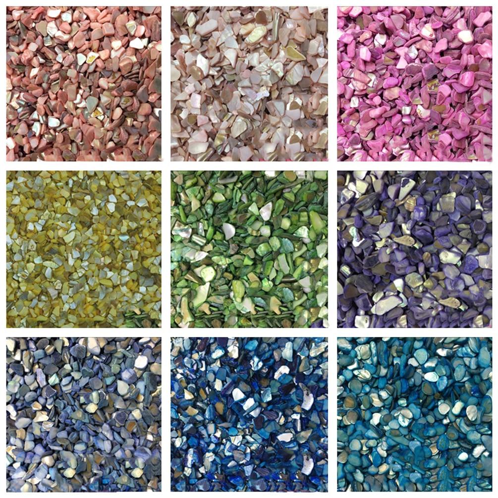 Shell Shaped Mosaic Tiles Creative Mosaic Stones 25 Colors Optional DIY Mosaic Making Crafts Scrapbooking Embellishment