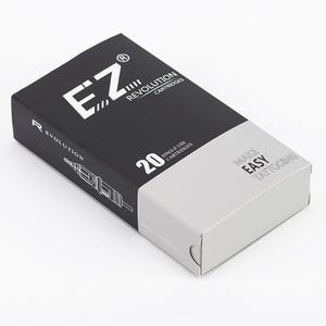 Image 4 - EZ מהפכה קעקוע מחטי מחסנית עגול ספינות #12 0.35mm ארוך להתחדד 5.5mm עבור מחסנית מכונת ואוחז 20 יח\קופסא