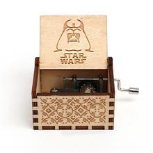VIP2 деревянные ручные музыкальные коробки вечерние Подарочные