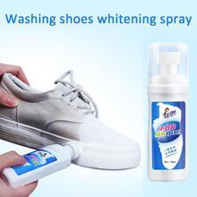 1 шт. стирке обуви отбеливающий спрей белые туфли очиститель отбеливания обновляется для полировки, очистки инструмент для кожаные ботинки кэжуал