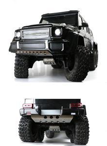 Image 4 - RC רכב מתכת trx 6 G63 פגוש מארז שריון הגנת לוח החלקה עבור Traxxass TRX 4 G500 88096 4 אפשרות שדרוג
