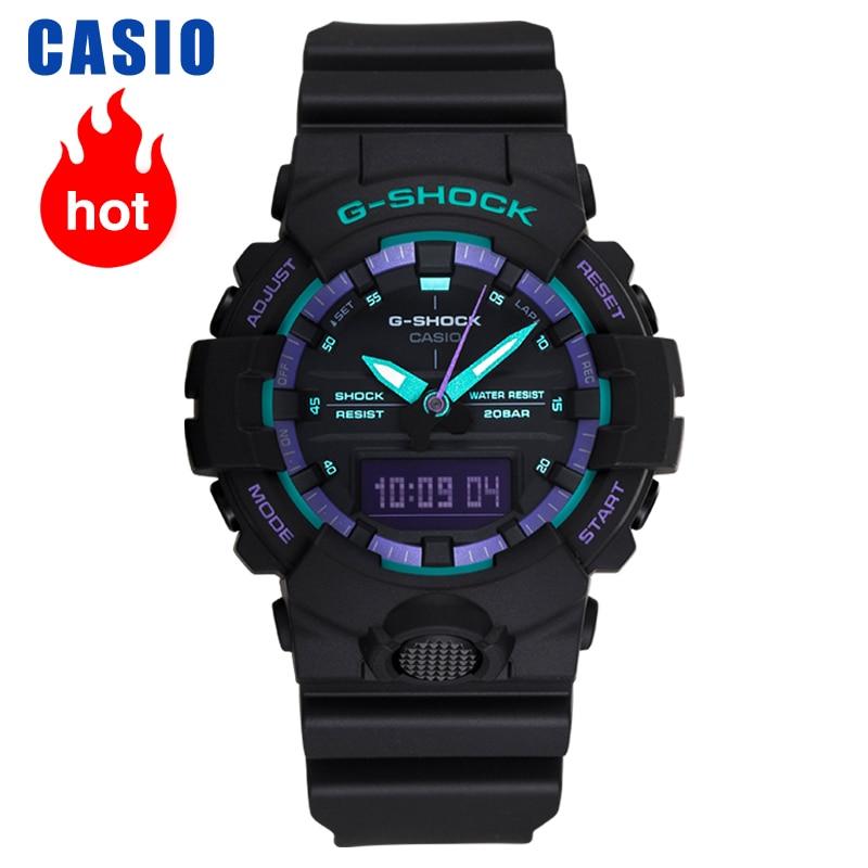 Casio Watch G-SHOCK Collection Casual Quartz Men's Watch GA-800BL-1A