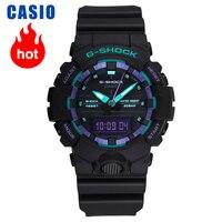 Reloj Casio G SHOCK de cuarzo para hombre  colección de GA 800BL 1A|Relojes de cuarzo| |  -