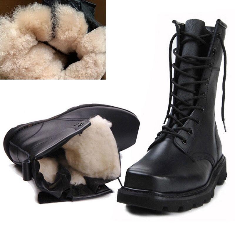 Men Winter Boots Men Military Boots