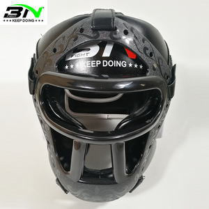 Image 5 - Kids/Adults MMA Sparring Muay Thai Boxing Helmet W/Mask Taekwondo Martial Arts Headgear Training Protective Head Protector DEO