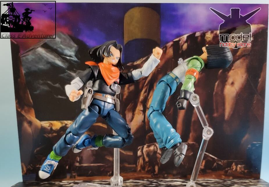 Image 2 - in stock 1/12 Android NO.17 Action Figure MIR Dragon Ball Super DBZ  Brinquedos Model Toy  set-in Action & Toy Figures from Toys & Hobbies
