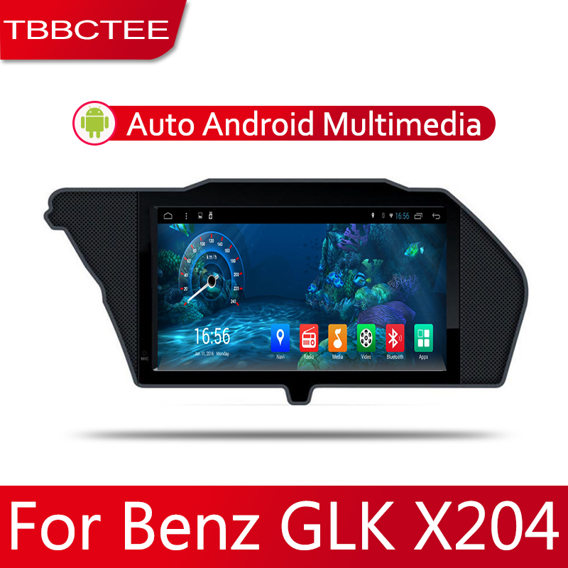 7 HD 1080P IPS LCD Screen Android 8 Core For Mercedes Benz GLK X204 2008~2012 Car Radio BT 3G4G AUX USB GPS Navi Multimedia