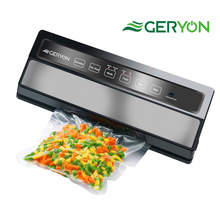 GERYON Vacuum Sealer Machine, Automatic Food Sealer for Food Savers / Starter Kit|Led Indicator Lights|Easy to Clean|Dry & Moist