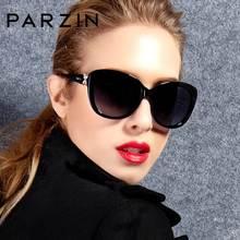 PARZIN surdimensionné lunettes De soleil femmes marque De luxe polarisé avec UV400 lentille papillon lunettes De soleil Vintage lunettes Oculos De Sol