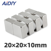AI DIY 5/10/50 Pcs 20 x 10mm N35 Neodymium Magnet super Strong Power Rare Earth Magnets Block Square *