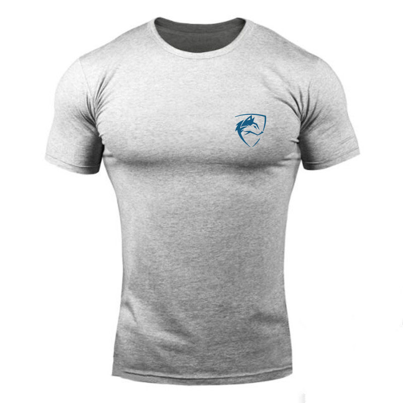 ALPHALETE 2018 Summer New Mens T Shirt Fitness Bodybuilding Fashion Male Short Cotton Clothing Brand Tee Tops