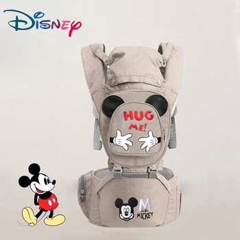 Disney Ergonomic Baby Carrier Infant Kid Baby Hipseat Sling Front Facing Kangaroo Baby Wrap Carrier for Baby Travel 0-18 Months Bags Kids
