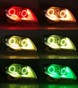 Image 4 - RF عن بعد بلوتوث APP متعدد الألوان RGB led عيون الملاك عدة لفولكس واجن فولكس فاجن باسات B6 Magotan 2005 2010 زينون العلوي