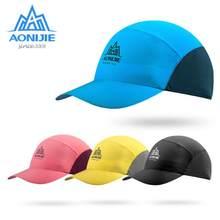 Aonijie chapéu esportivo de corrida para homens e mulheres, proteção uv respirável para maratona, corrida, caminhada, ciclismo