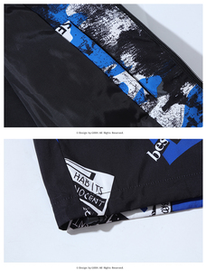 Image 4 - Plus Size 10XL 9XL 8XL 7XL 6XL Spring Autumn Hip Hop Jacket Men Slim Fit Flowers Pilot Bomber Jacket Mens Stand Collar Coats