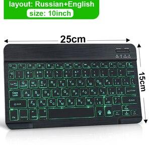 Игровая клавиатура с подсветкой, USB 104, RGB светодиодный кой и русской раскладкой