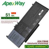 Apexway 7.4V 51WH G5M10 Batteria Del Computer Portatile per Dell Latitude 14 5000 Serie (E5450) e5550 E5570 6MT4T OR9XM9 8V5GX O8V5GX 7V69Y