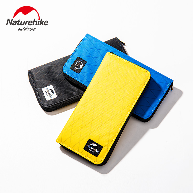 Naturehike  Waterproof Passport Bag Travel Wallet X-PAC Business Storage Bag Anti-theft For Outdoor Trip Traveling NH19BB087