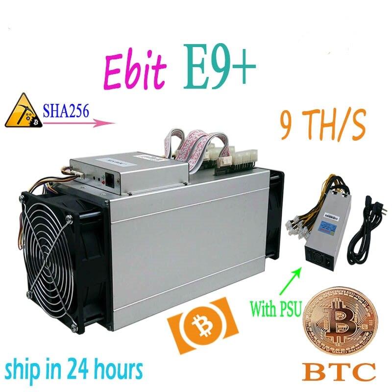 Ebit E9  Plus BitCoin Miner 9 TH//S