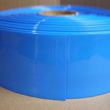 ПВХ термоусадочная трубка шириной 308 мм, диаметр 196 мм, изолированная пленка для литиевой батареи, защитный чехол, упаковка проводов, кабель, ...