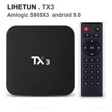 TX3 Android 9.0 TV BOX Amlogic S905X3 4G RAM 32GB 64GB ROM Q