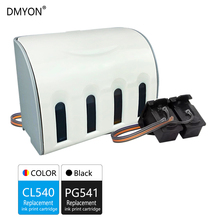 DMYON Replacement for Canon PG540 CL541 CISS Bulk Ink Cartridge for Pixma MX374 MX375 MX395 MG2150 MG2250 MG3150 MG3650 Printer pg 540 cl 541 xl ink cartridge for compatible canon pixma mx455 mx515 mx525 mx375 mx395 mx435 mg2150 mg2250 mg3150 mg3250 mg3550