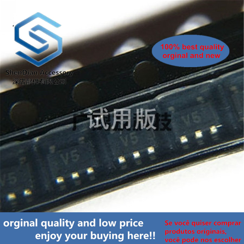 10pcs 100% Orginal New 74V1G14STR Single Schmitt Inverter SOT23-5 Integrated IC Chip